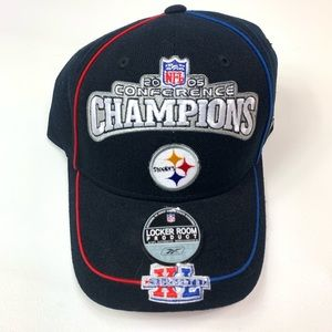 NWT Pittsburgh Steelers hat 2005 conference